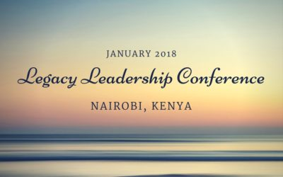 January leadership trip to Kenya