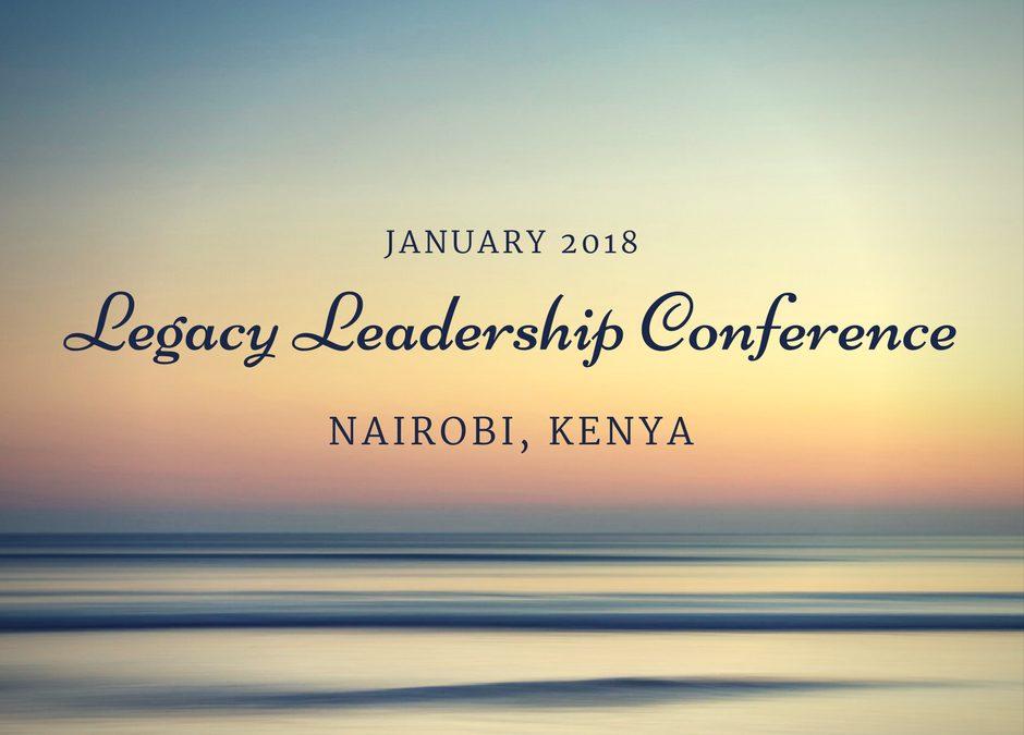 January leadership trip to Kenya
